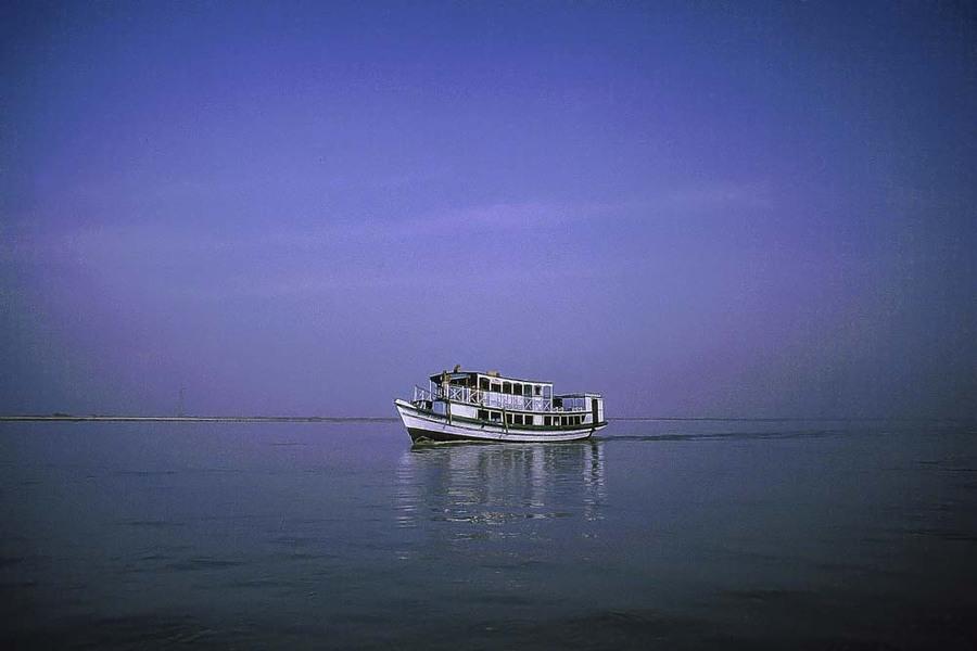 Crossing the Padma