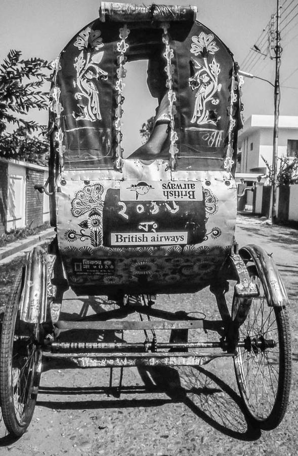 Rickshaw in Dhaka