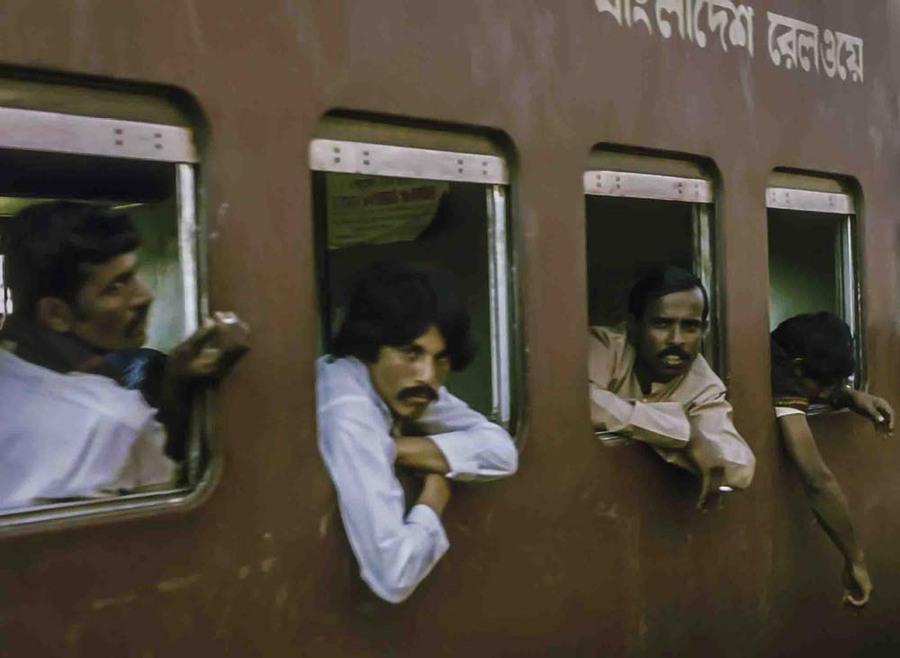 Night mail train to Sylhet