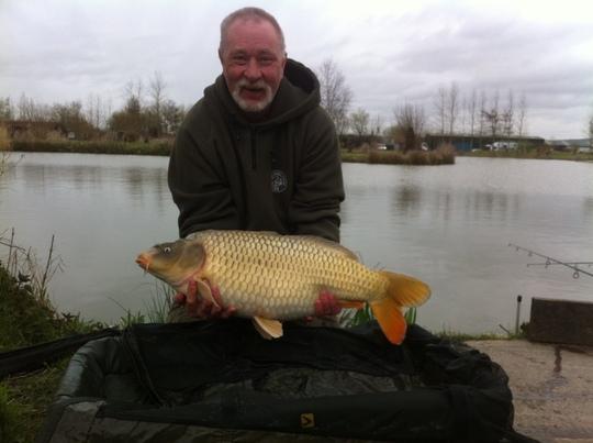 21lb 10oz common caught y Ian Bloor
