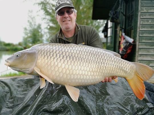 30lb 5oz common caught by Ian Bowen