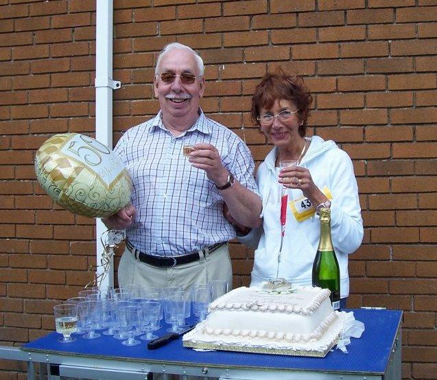 Mary & John on their Golden Wedding Anniversary