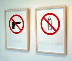 items prohib x 2
