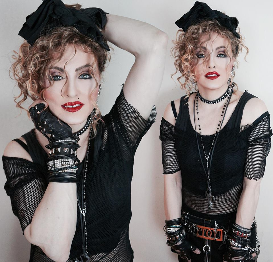 Madonna Impersonator Chris America Lucky Star MDNA HOLIDAY CHRISTMAS GRINCH