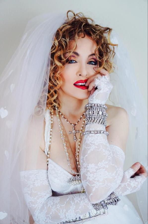 Madonna Impersonator Chris America 80s Like a Virgin MDNA Tribute Lucky Star