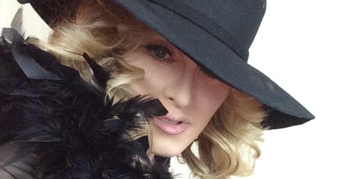Chris America as Madonna Impersonator MDNA