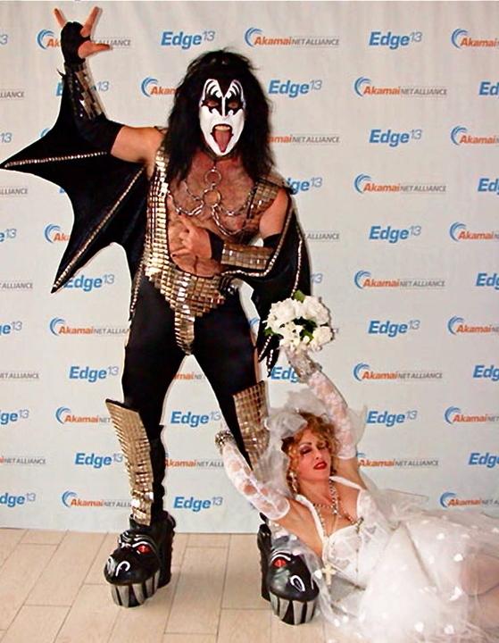 Madonna Impersonator Chris America Gene Simmons