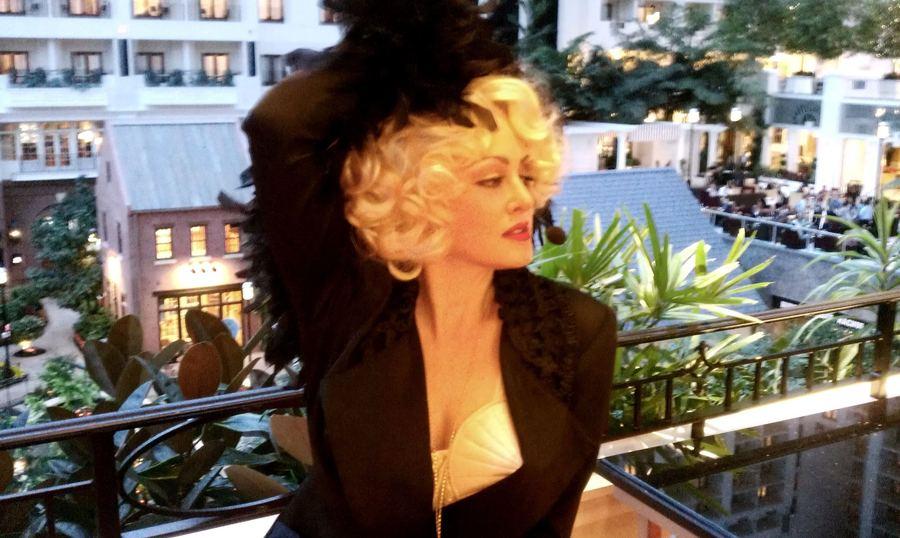 Madonna Impersonator Chris America MDNA 80s 90s Blonde Ambition