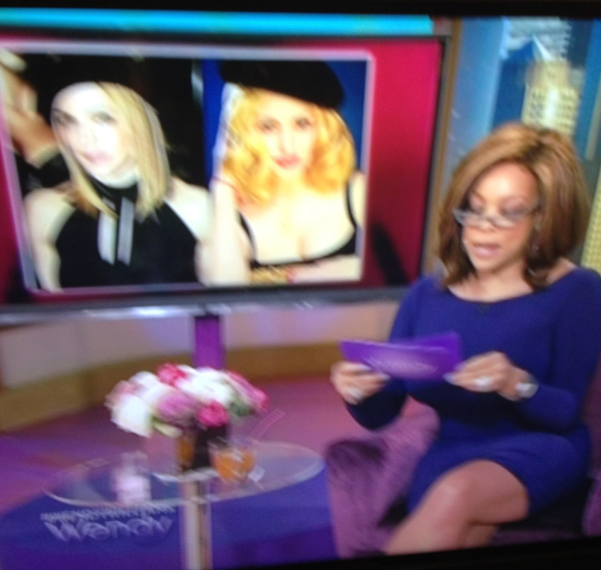 Madonna Impersonator Chris America Wendy Williams Show MDNA