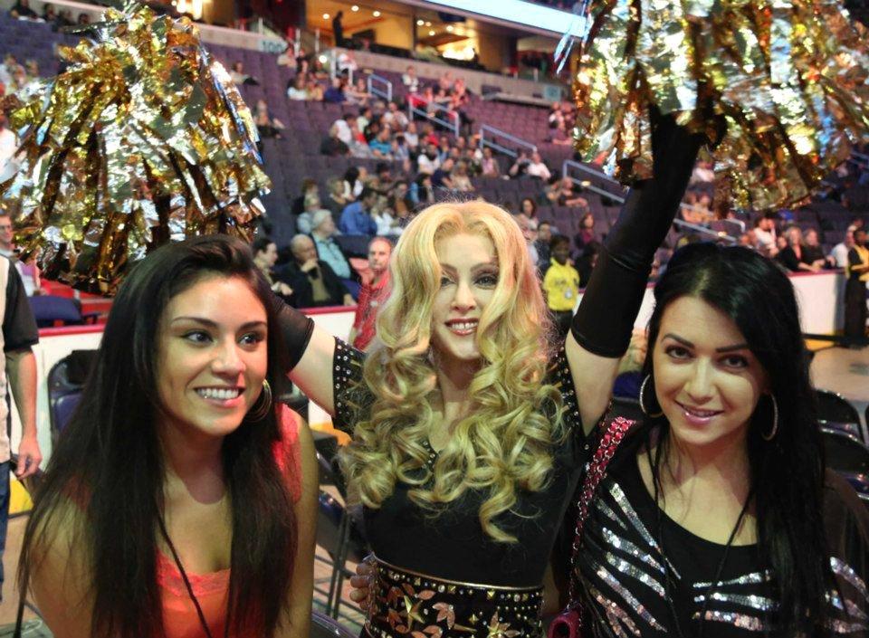 Chris America Madonna Impersonator look alike Tribute MDNA