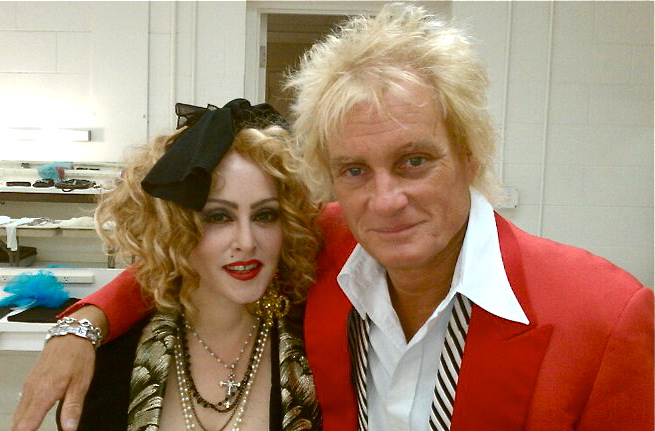  Chris America as Madonna Rod Stewart