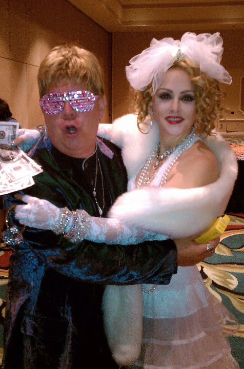 Madonna Impersonator Chris America Like a Virgin Elton John