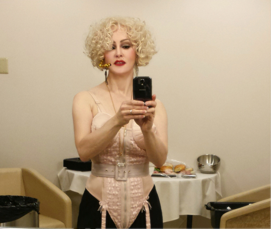 Madonna Impersonator Chris America MDNA  80s 90s Blonde Ambitionr