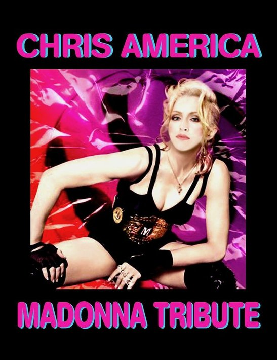 Chris America Madonna  Impersonator