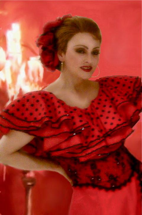 Madonna Impersonator Chris America La Isla Bonita Costume