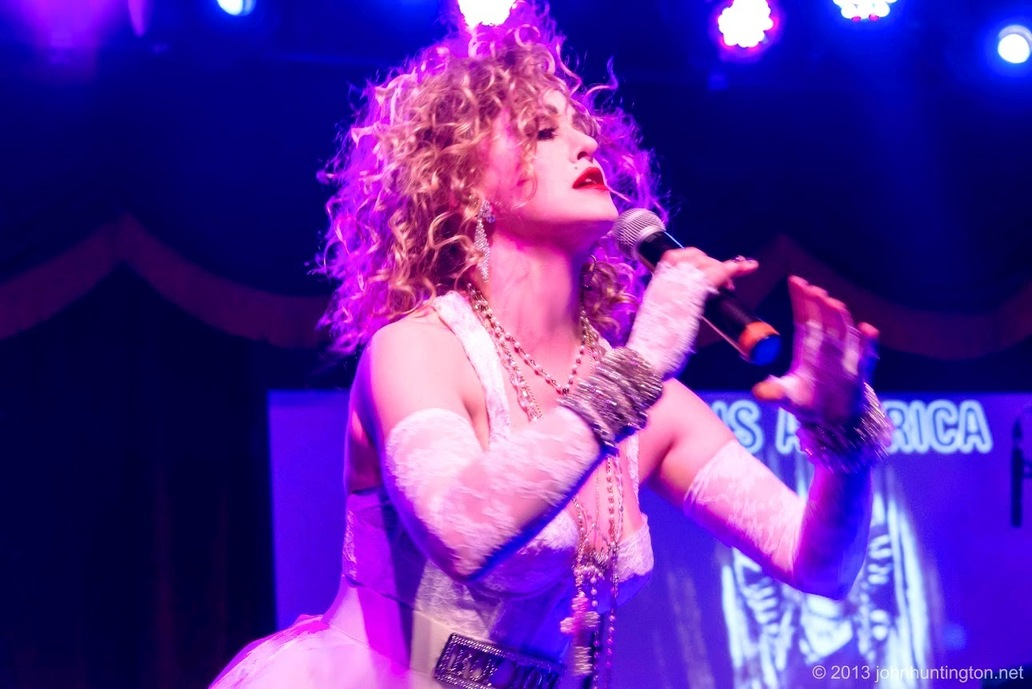 Madonna Impersonator Chris America Like A Virgin Elton John