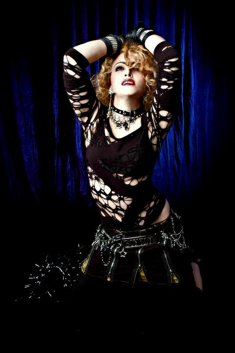 chris america 80s Madonna Impersonator