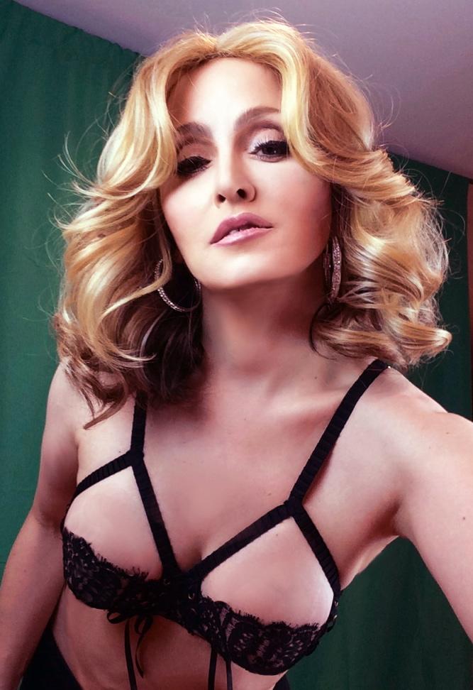 Turn Up the Radio  Costume. Madonna Impersonator Chris America MDNA Superbowl. GIRL GONE WILD ...  sc 1 st  Chris America & MDNA 2012