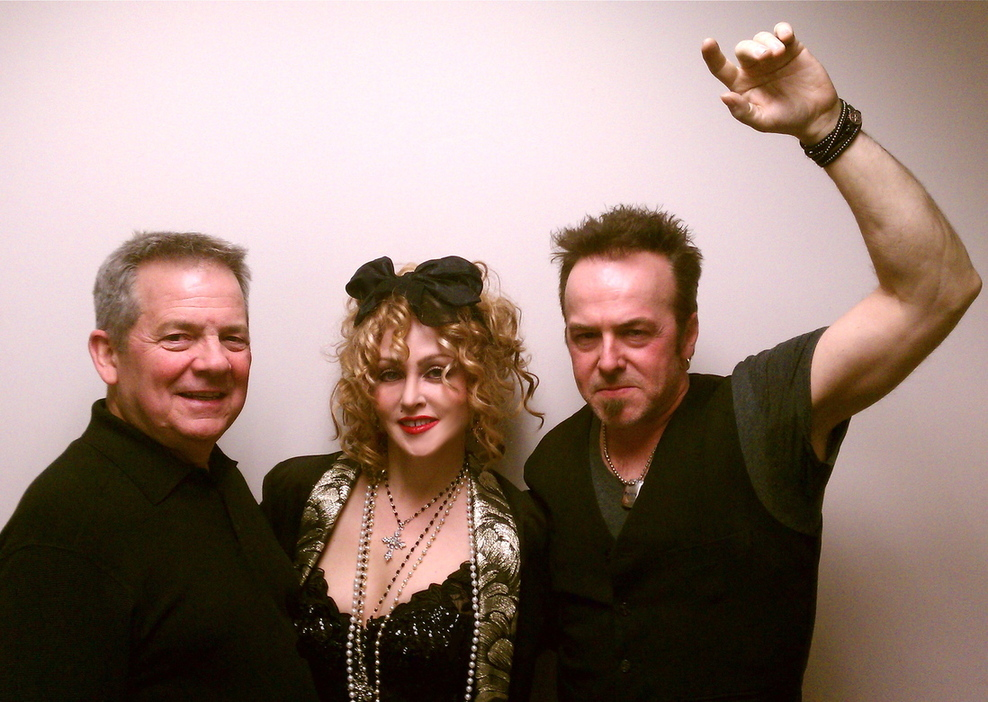 Fantastic 80's night with Chris America Madonna Impersonator and Bruce Springsteen
