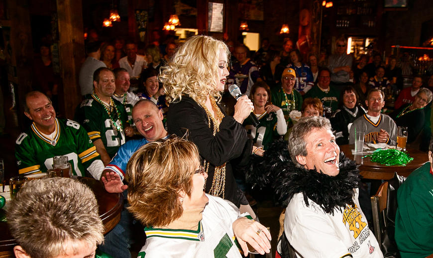 madonna impersonator Chris America Green Bay Packers