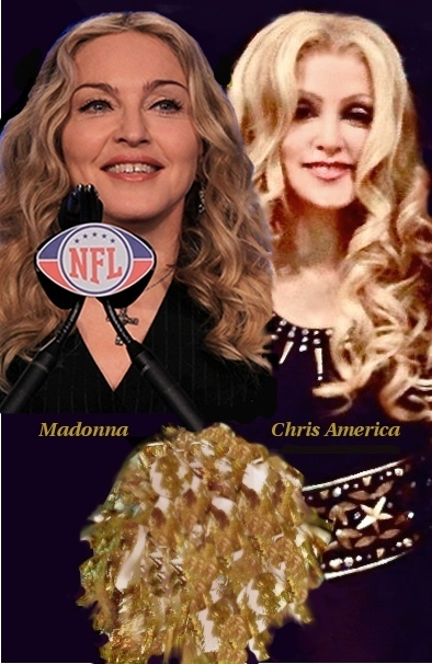 Madonna Impersonator Chris America Superbowl MDNA