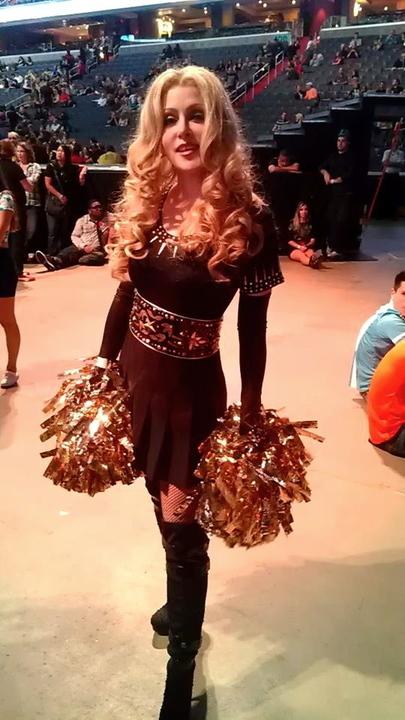Madonna Impersonator Chris America MDNA Superbowl