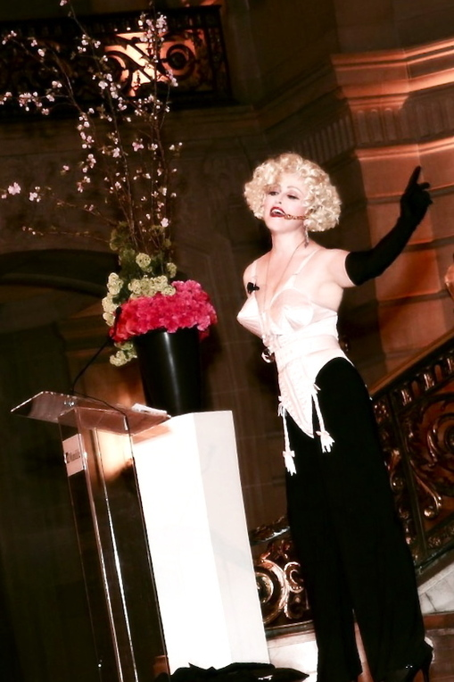 Madonna Impersonator Chris America MDNA Look Alike