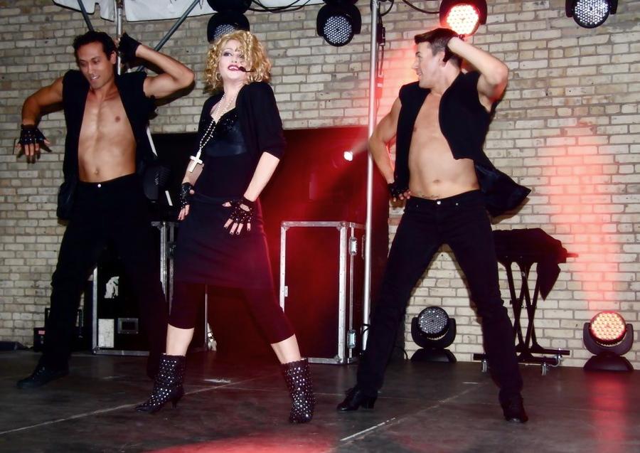 Madonna 80's Impersonator Chris America