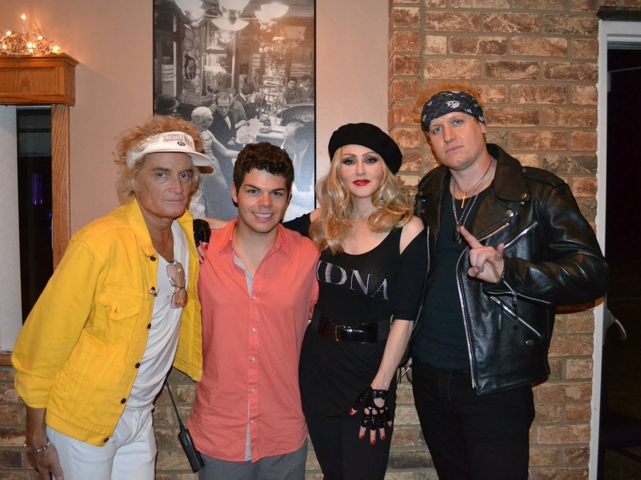 Madonna Impersonator Chris America MDNA Brennan Seehafer