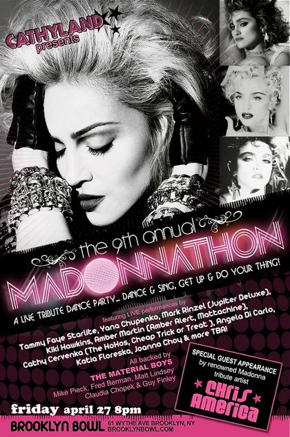 Chris America Madonnathon