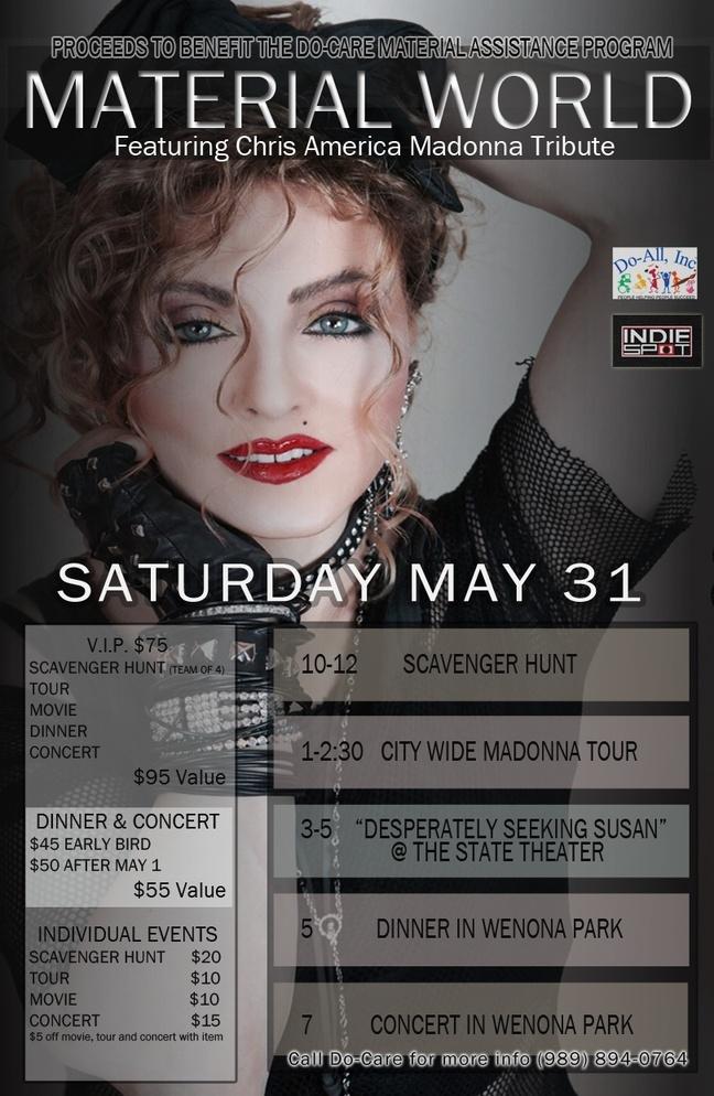 Madonna Impersonator Chris America Bay City Michigan