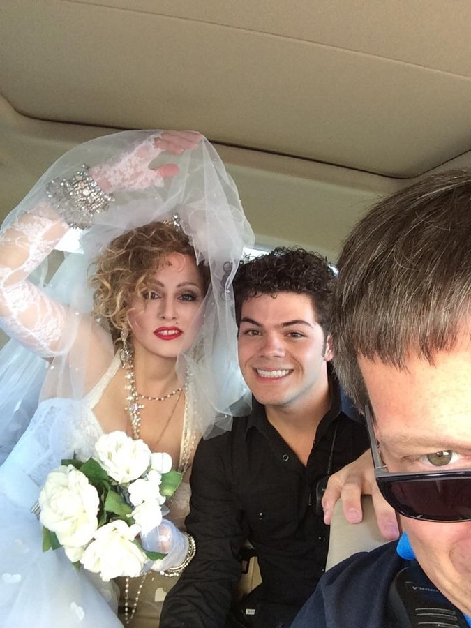 Chris America Madonna Impersonator Brennan Seehafer Producer