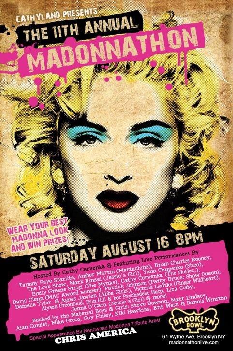 Madonna impersonator Chris America madonnathon