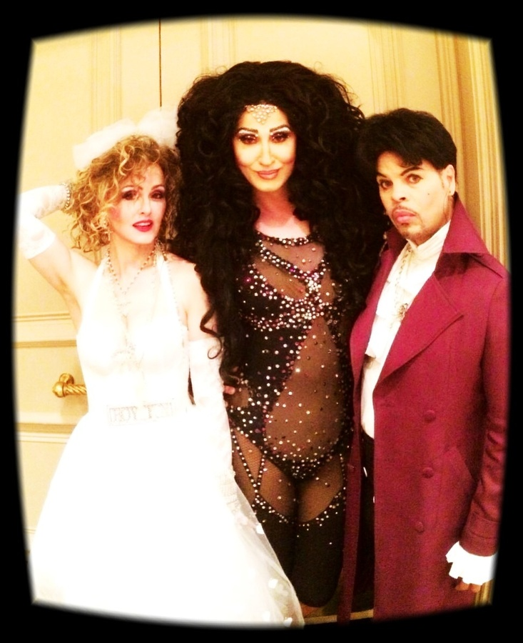 Madonna Impersonator Chris America Steven Andrade Cher