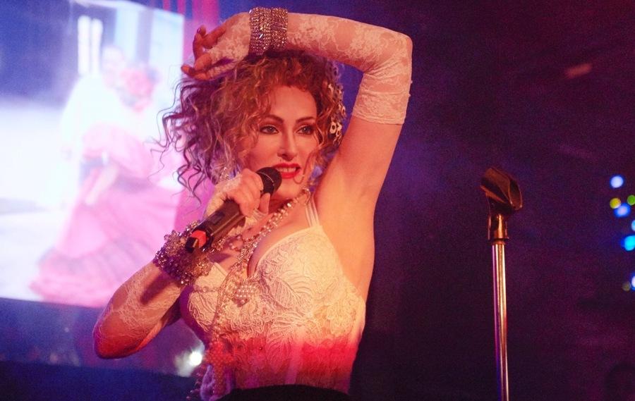 Chris America as Madonna