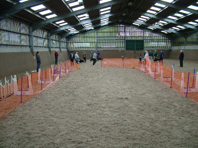 a starters training session at Penny Farm
