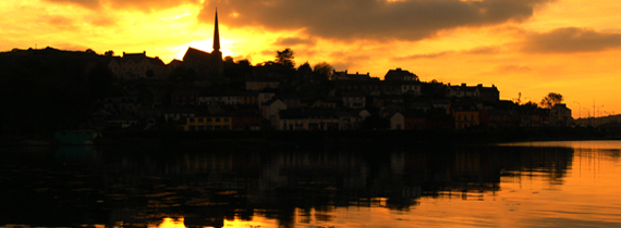 Crosshaven - scenic village in Cork - Ger's hometown and Location for New Center