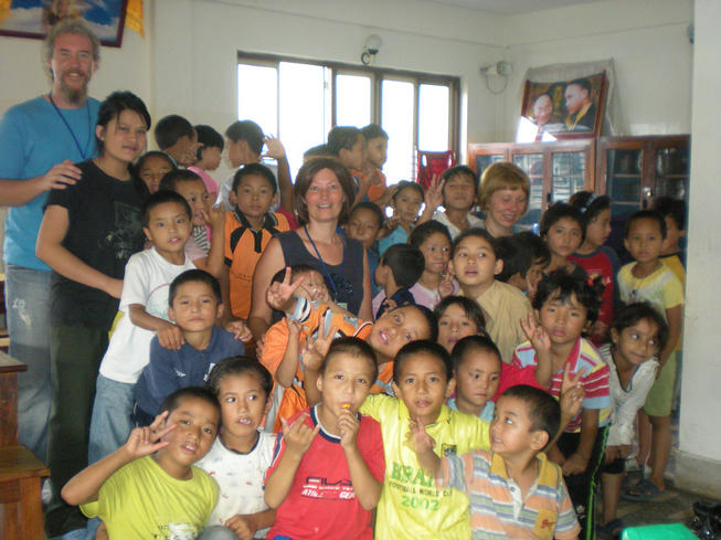 Orphanage school for Himalayan children in Kathmandu