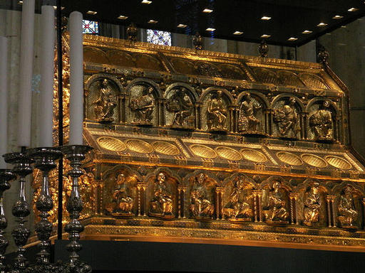 Sarcophagus of the 3 Kings - Cologne Cathedral Germany