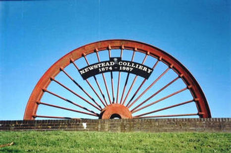 Newstead memorial wheel