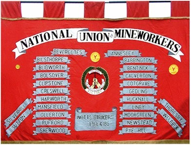 Notts area banner