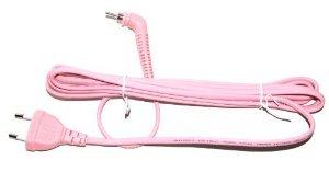 pink straightener lead