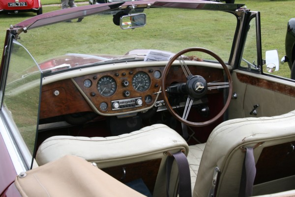 Alvis Tourer cockpit