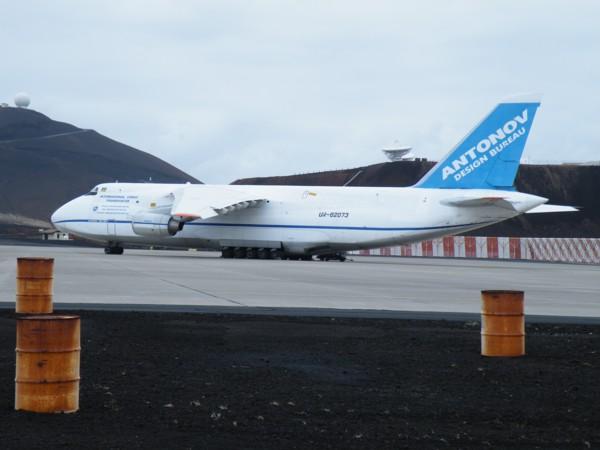 Antonov 124 at Ascension
