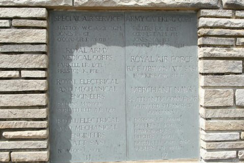 The Roll of Honour Plaque 6