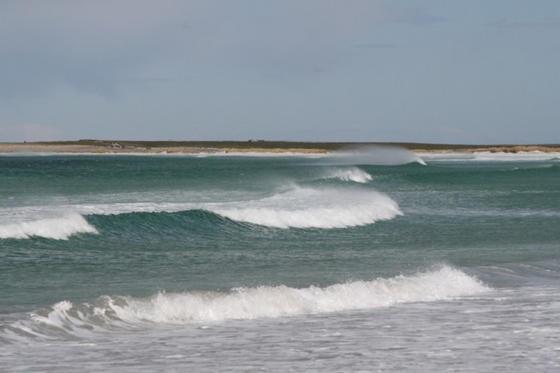 Surf at Bertha's Beach
