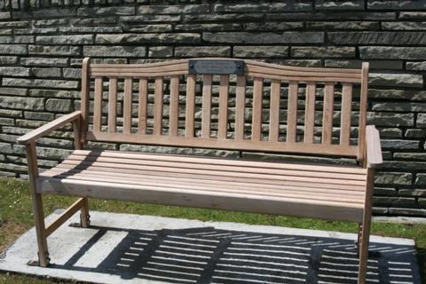 Bench of Remembrance for Cpl Uren 45 Cdo