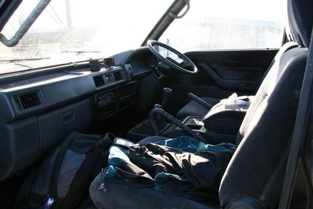 Interior from front passenger door