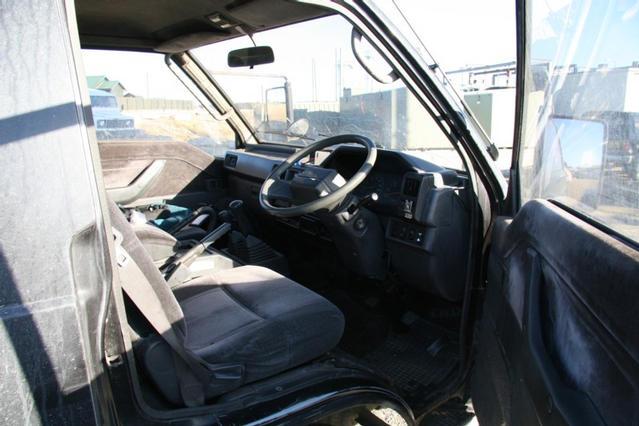 Interior driver's side