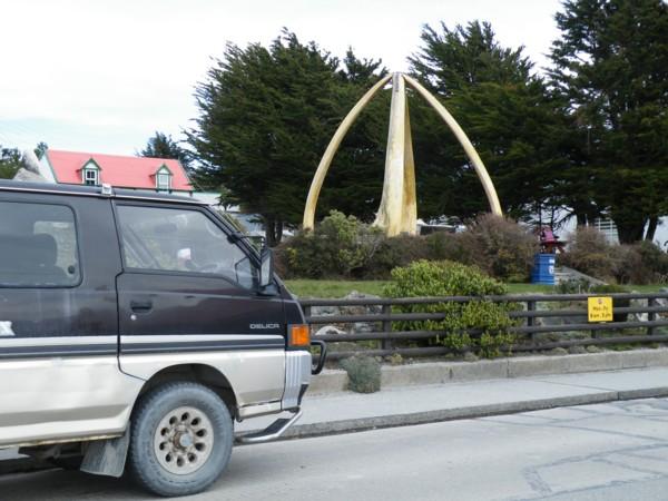 Mitsi and the Whalebone Arch